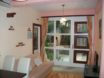 Trogir, Obývací pokoj v ubytování typu apartment, WiFi.
