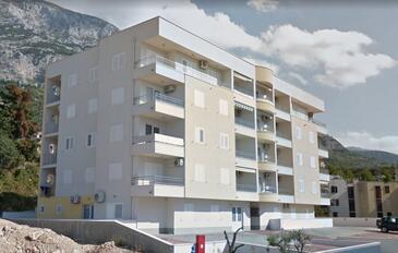 Makarska, Makarska, Objekt 16851 - Ubytování s oblázkovou pláží.