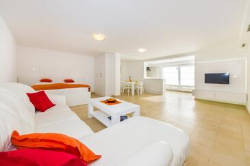 Sveti Petar, Dnevna soba v nastanitvi vrste studio-apartment, dostopna klima in WiFi.