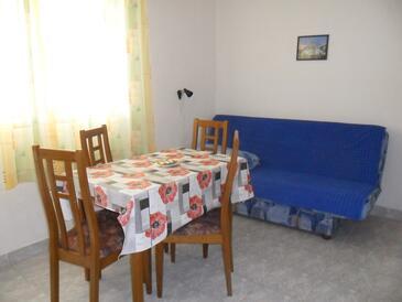 Sevid, Jedilnica v nastanitvi vrste apartment, dostopna klima in WiFi.