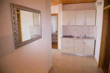 Novalja, Кухня в размещении типа apartment, доступный кондиционер, Домашние животные допускаются и WiFi.