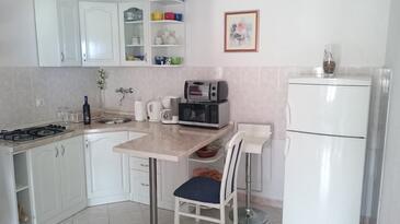 Sevid, Kuchyňa v ubytovacej jednotke apartment, domáci miláčikovia povolení a WiFi.
