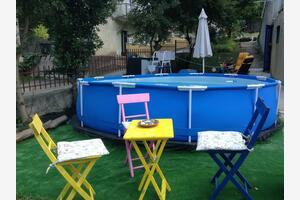 Family friendly apartments with a swimming pool Novi Vinodolski - 16920