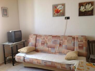 Ražanac, Гостиная в размещении типа apartment, WiFi.