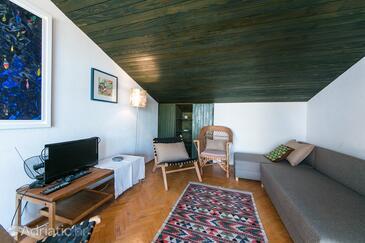 Brela, Living room in the apartment, WiFi.
