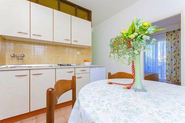 Novalja, Кухня в размещении типа apartment, WiFi.