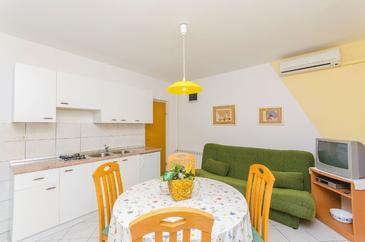 Novalja, Nappali szállásegység típusa apartment, légkondicionálás elérhető és WiFi .