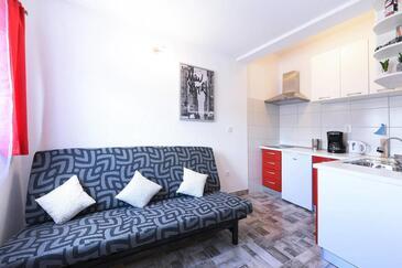 Marina, Гостиная в размещении типа apartment, доступный кондиционер и WiFi.