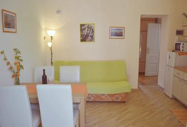 Pula, Living room in the apartment, WiFi.