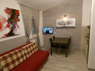 Okrug Gornji, Гостиная в размещении типа apartment, доступный кондиционер и WiFi.