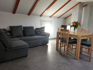Vinišće, Obývací pokoj v ubytování typu apartment, WiFi.