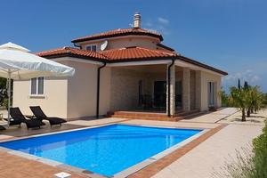 Holiday house with a swimming pool Vrh, Krk - 17073