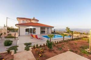 Family friendly house with a swimming pool Vrh, Krk - 17081