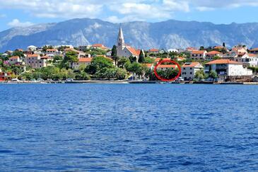 Sumartin, Brač, Property 17090 - Apartments near sea with pebble beach.