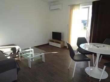 Lopar, Гостиная в размещении типа apartment, доступный кондиционер и WiFi.