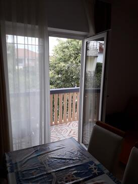 Sveti Filip i Jakov, Jídelna v ubytování typu apartment, WiFi.