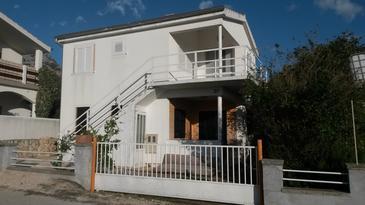 Seline, Paklenica, Objekt 17115 - Apartmaji s prodnato plažo.