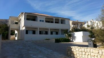 Pag, Pag, Alloggio 17147 - Appartamenti affitto vicino al mare con la spiaggia sabbiosa.