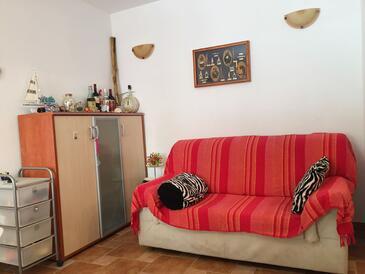 Novalja, Гостиная в размещении типа house, WiFi.