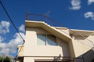 Tučepi, Makarska, Объект 17153 - Апартаменты с галечным пляжем.