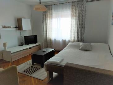 Rijeka, Obývací pokoj v ubytování typu apartment, WiFi.