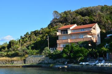 Supetarska Draga - Donja, Rab, Obiekt 17201 - Apartamenty przy morzu z piaszczystą plażą.
