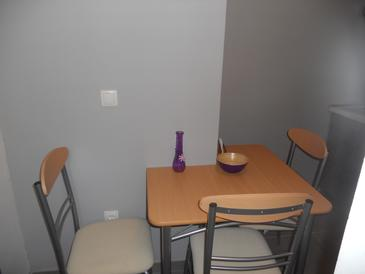 Krilo Jesenice, Dining room in the studio-apartment, WiFi.