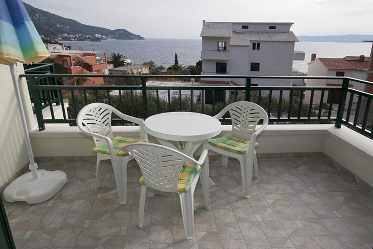 Ferienwohnung im Ort Igrane Makarska Kapazität 4 1