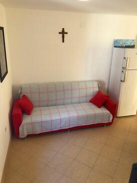 Susak, Obývací pokoj v ubytování typu apartment, WiFi.