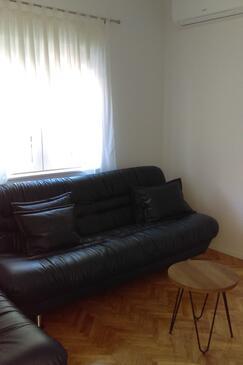 Starigrad, Гостиная в размещении типа apartment, доступный кондиционер и WiFi.
