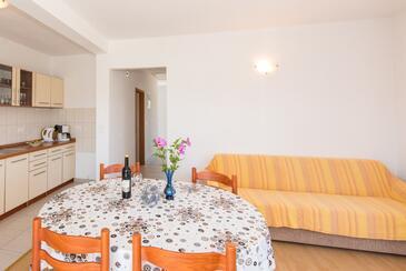 Petrčane, Obývací pokoj v ubytování typu apartment, WiFi.