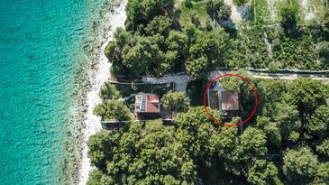Duga, Čiovo, Objekt 17349 - Kuća za odmor blizu mora sa kamenitom plažom.
