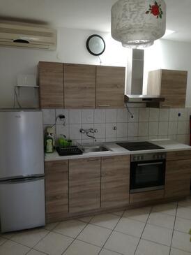 Sveta Nedilja, Kuchyně v ubytování typu house, s klimatizací a WiFi.