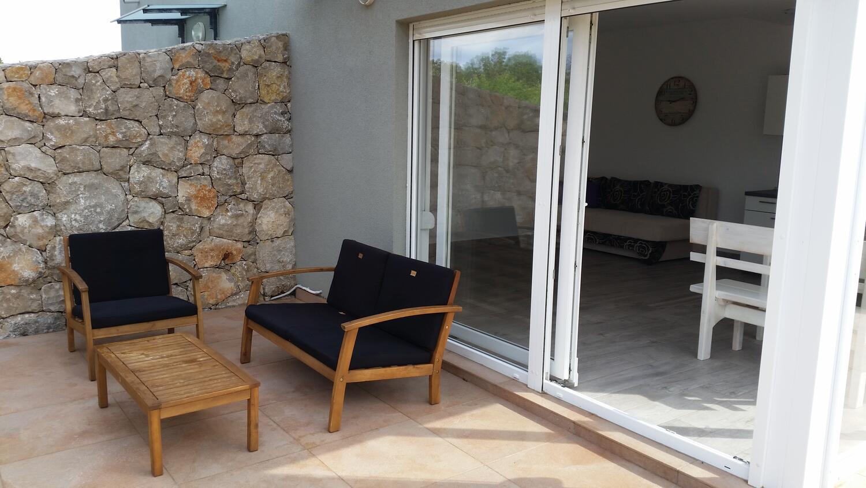 Ferienwohnung im Ort Novalja Pag Kapazität 2 2
