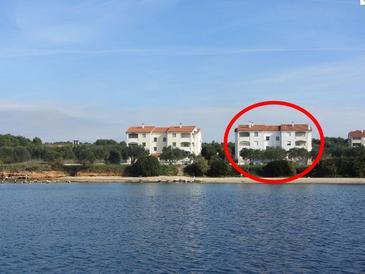 Biograd na Moru, Biograd, Объект 17372 - Апартаменты вблизи моря с галечным пляжем.