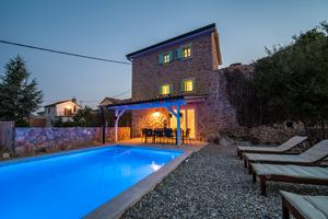 Luxury villa with a swimming pool Risika, Krk - 17394