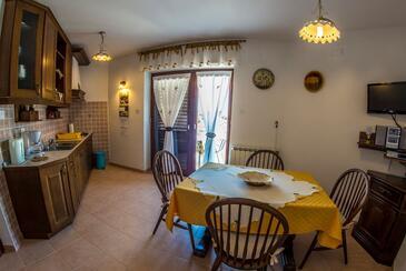 Banjole, Jedilnica v nastanitvi vrste apartment, Hišni ljubljenčki dovoljeni in WiFi.