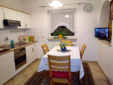 Selište Drežničko, Jídelna v ubytování typu apartment, WiFi.