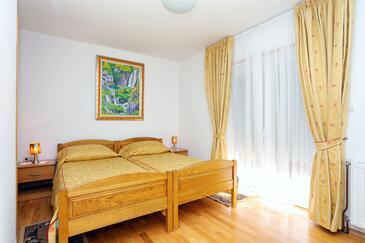 Vranovača, Ložnice v ubytování typu room, domácí mazlíčci povoleni a WiFi.