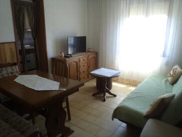 Lopar, Гостиная в размещении типа apartment, WiFi.