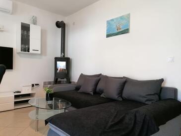 Ražanj, Dnevna soba v nastanitvi vrste apartment, dostopna klima in WiFi.
