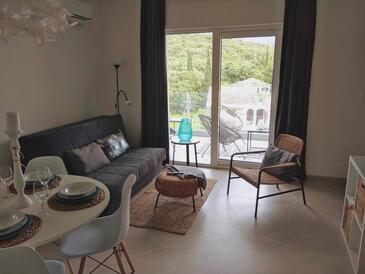 Žrnovska Banja, Гостиная в размещении типа apartment, доступный кондиционер и WiFi.