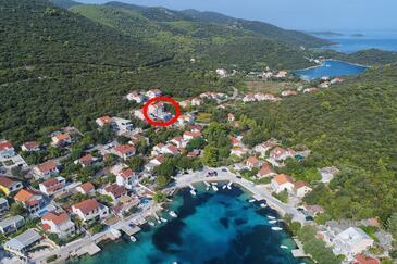 Žrnovska Banja, Korčula, Objekt 17457 - Ubytování v blízkosti moře s oblázkovou pláží.