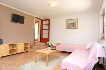 Donje Taborište, Obývací pokoj v ubytování typu apartment, domácí mazlíčci povoleni a WiFi.