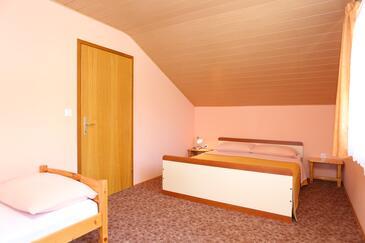 Slunj, Ložnice v ubytování typu room, WiFi.