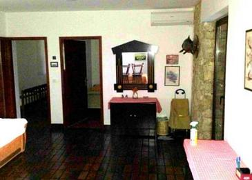Novalja, Living room in the apartment, air condition available, (pet friendly) and WiFi.