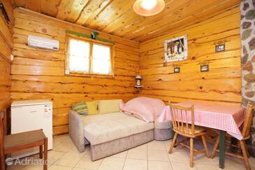 Perušić, Esszimmer in folgender Unterkunftsart apartment, Haustiere erlaubt und WiFi.