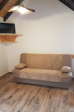 Postira, Living room in the house, (pet friendly).