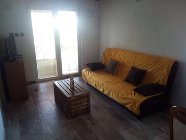 Silba, Гостиная в размещении типа apartment, доступный кондиционер, Домашние животные допускаются и WiFi.