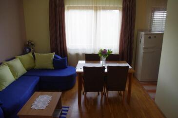 Slunj, Obývací pokoj v ubytování typu apartment, WiFi.